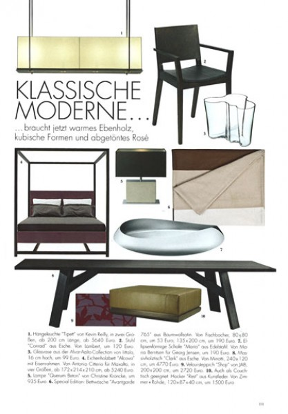 ELLE DECORATION - Ausgabe 05/09
